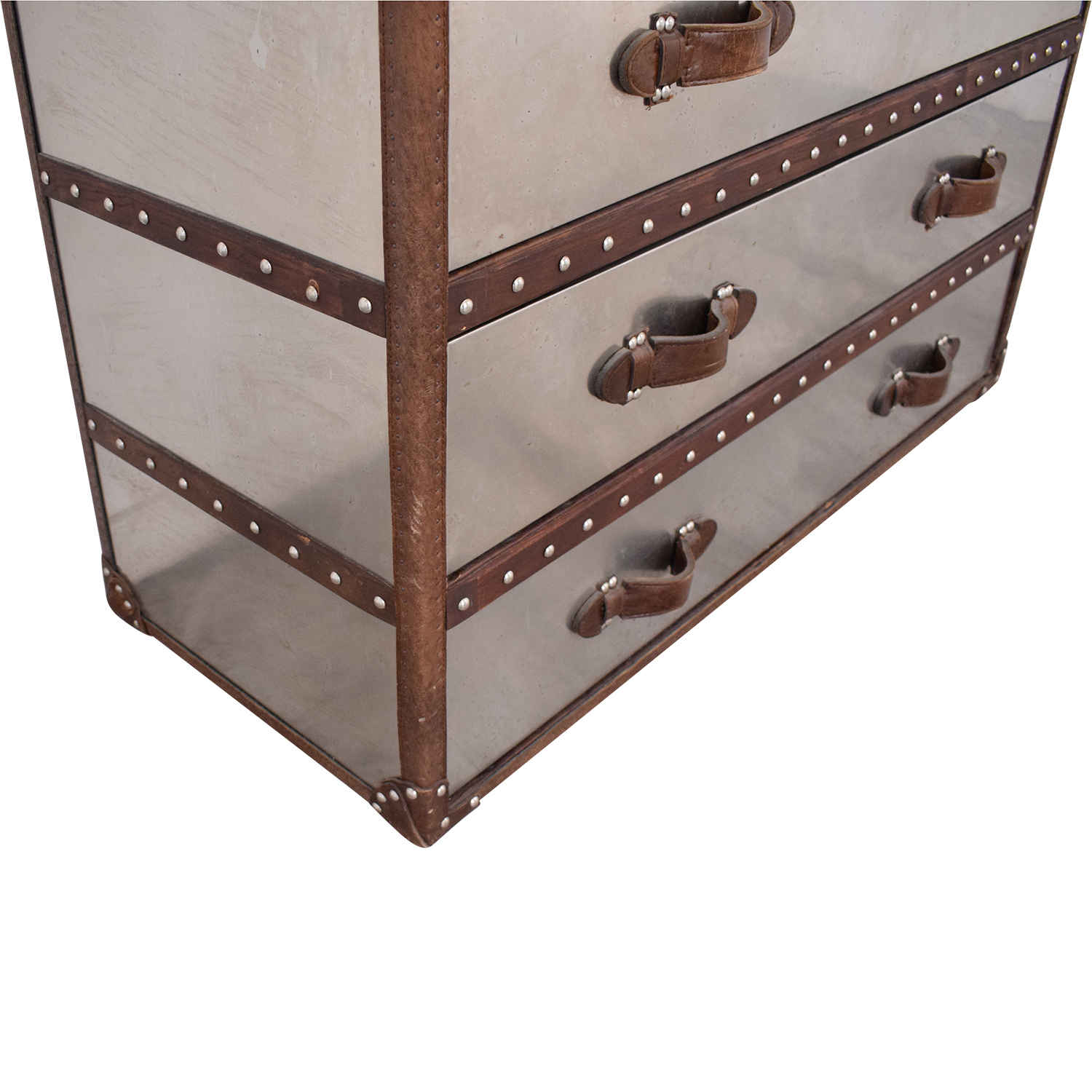 Restoration Hardware Restoration Hardware Mayfair Steamer Trunk used