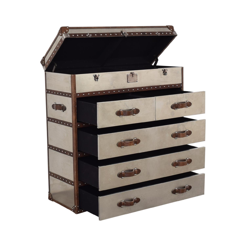 Restoration Hardware Restoration Hardware Mayfair Steamer Trunk Dressers