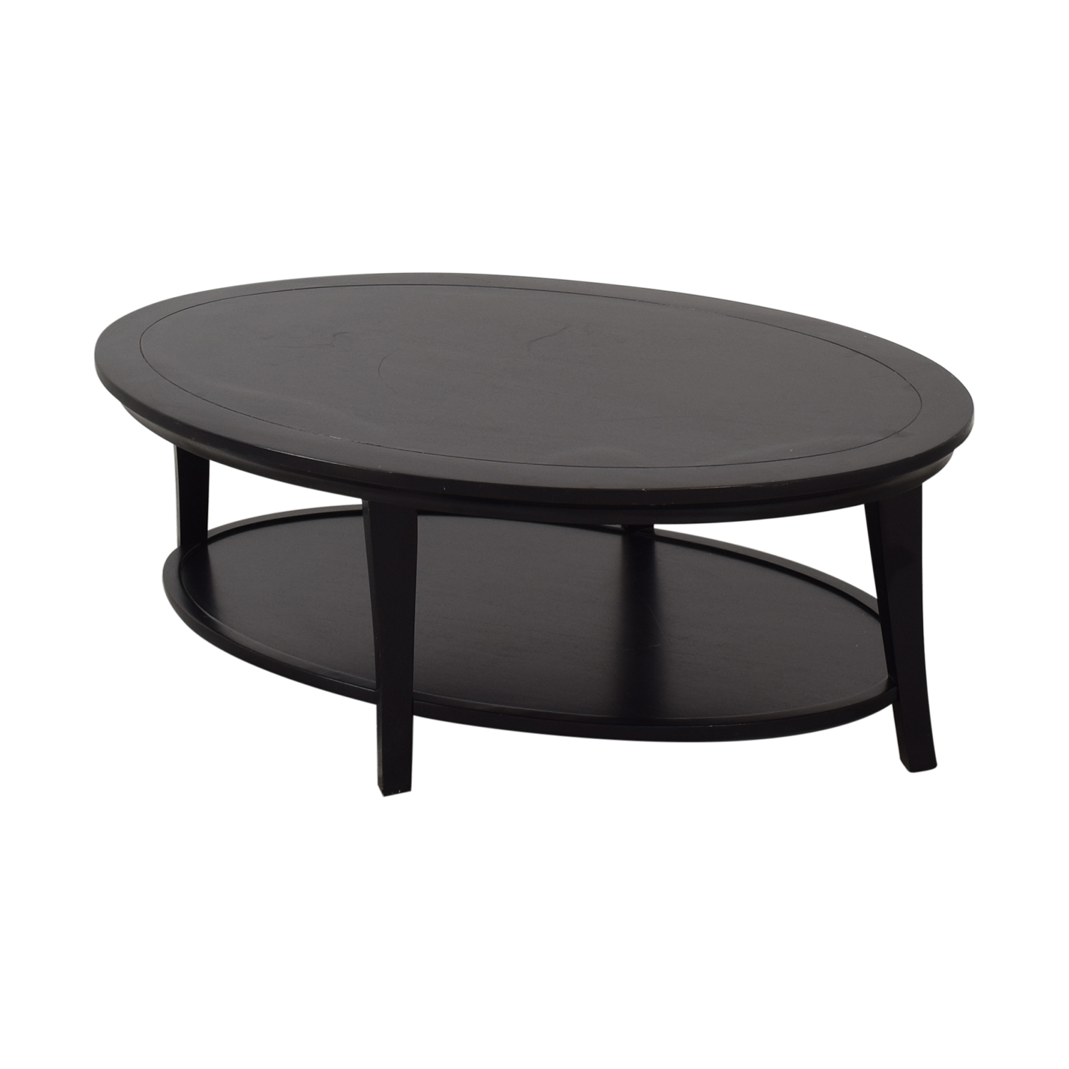 Superb 14 Off Pottery Barn Pottery Barn Metropolitan Oval Coffee Table Tables Ibusinesslaw Wood Chair Design Ideas Ibusinesslaworg