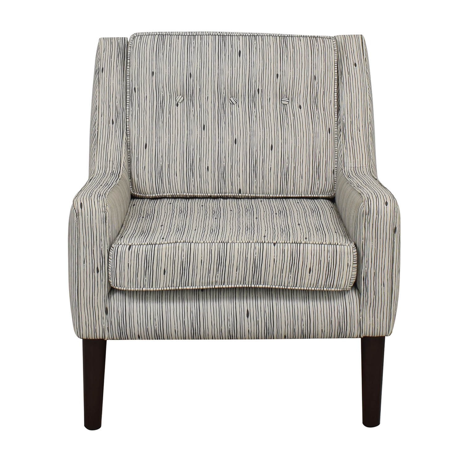One Kings Lane One Kings Lane Patterned Accent Chair Chairs