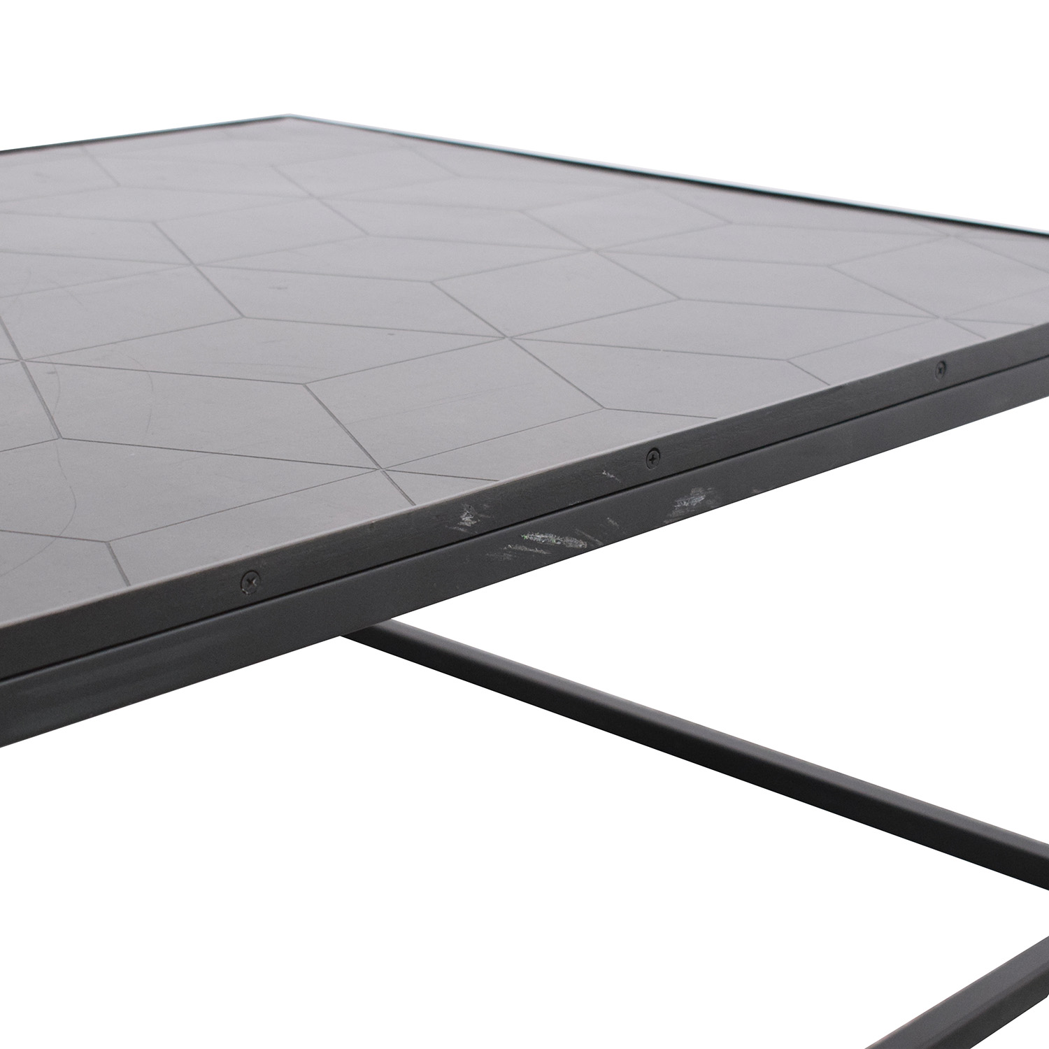 Restoration Hardware Restoration Hardware Mercer Rectangular Coffee Table dimensions