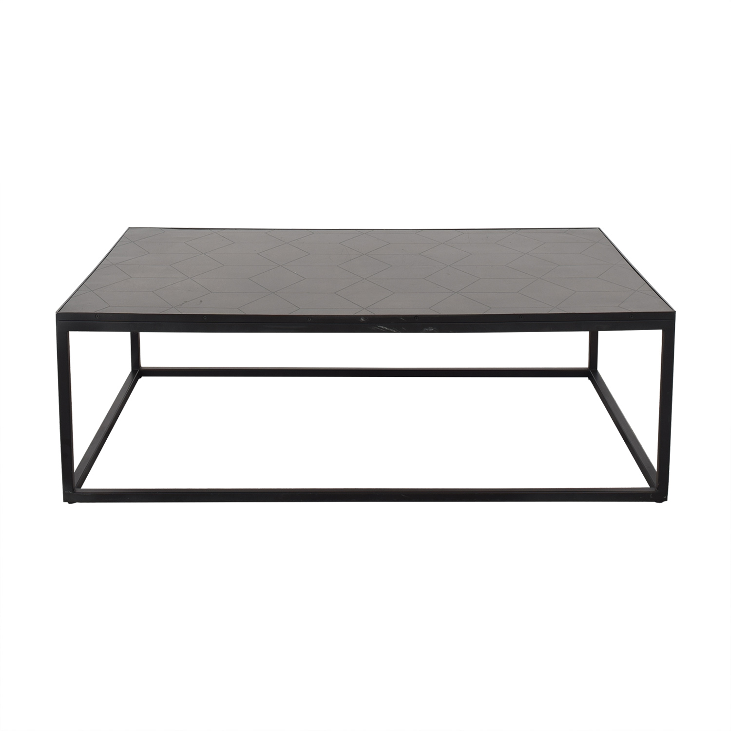 Restoration Hardware Mercer Rectangular Coffee Table sale