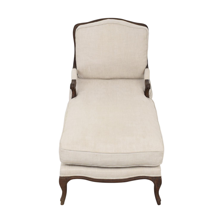 shop Restoration Hardware Chaise Lounge Restoration Hardware