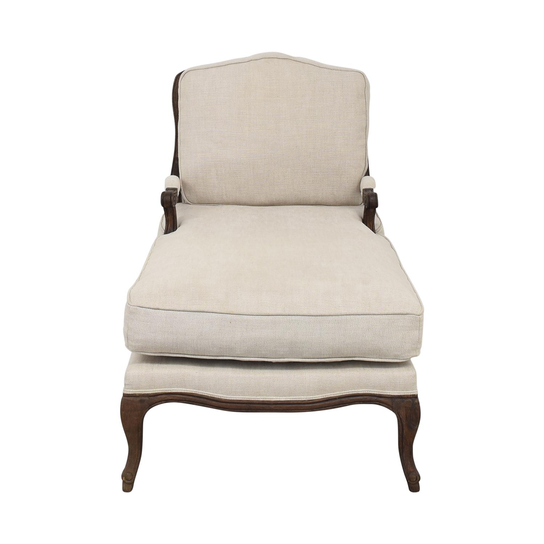 Restoration Hardware Restoration Hardware Chaise Lounge on sale