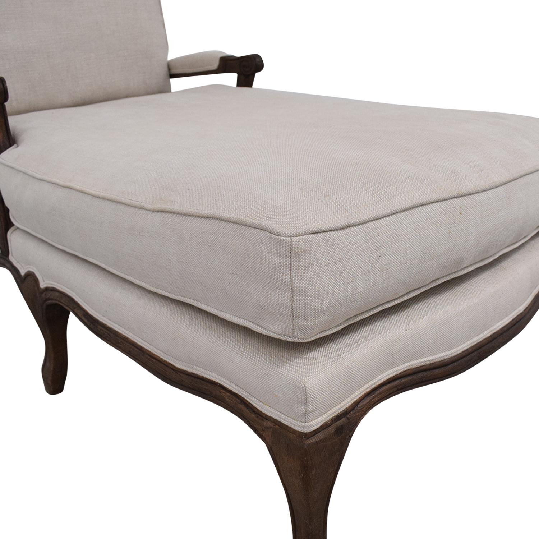 Restoration Hardware Chaise Lounge sale