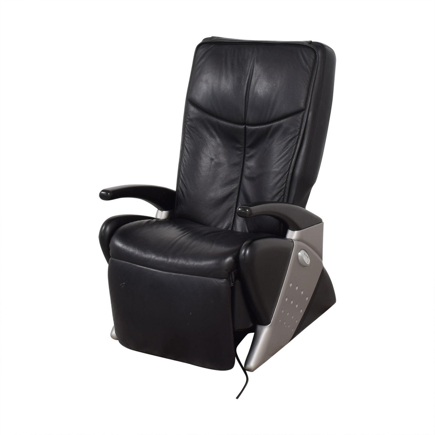 Euro Keyton Massage Chair black & grey