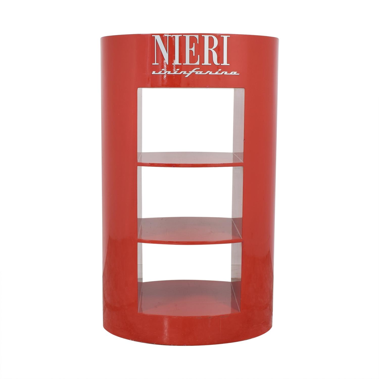 Nieri Neiri Cylinder Shelf dimensions