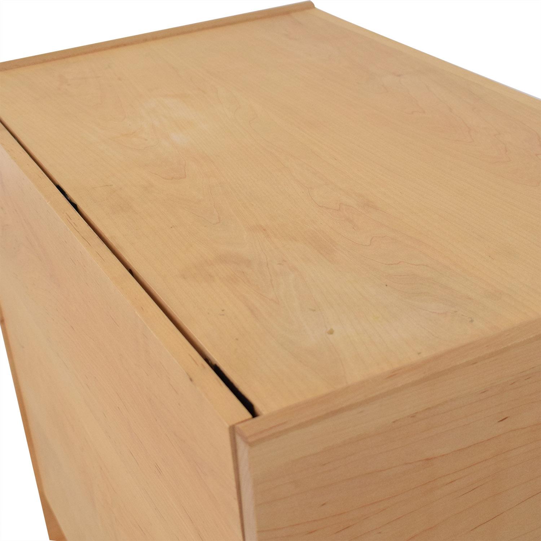 Custom Minimalist Dresser with Fold Down Level sale