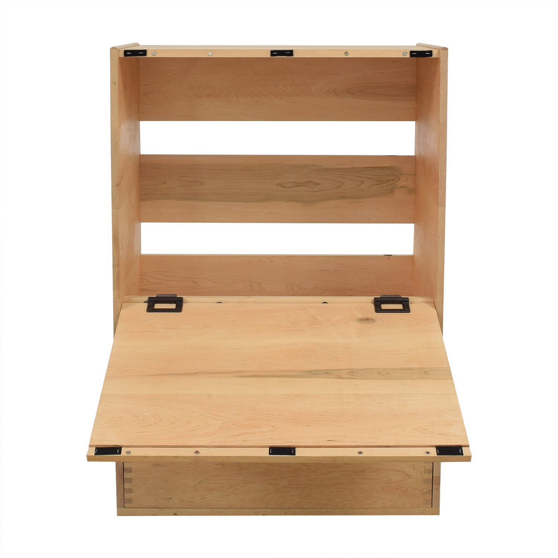 Custom Minimalist Dresser with Fold Down Level used