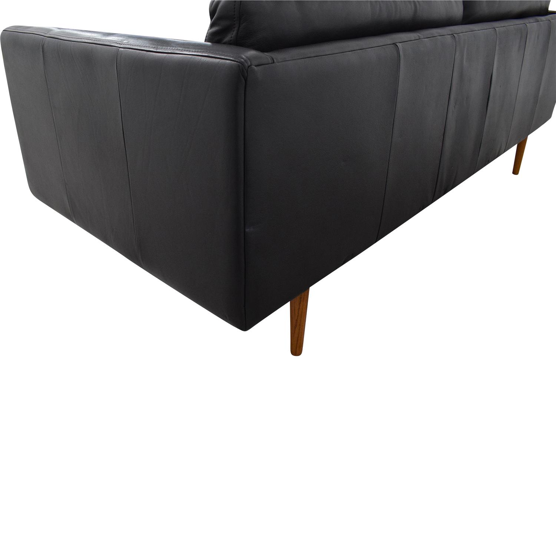 Tufted Mid Century Lounge Sofa Sofas