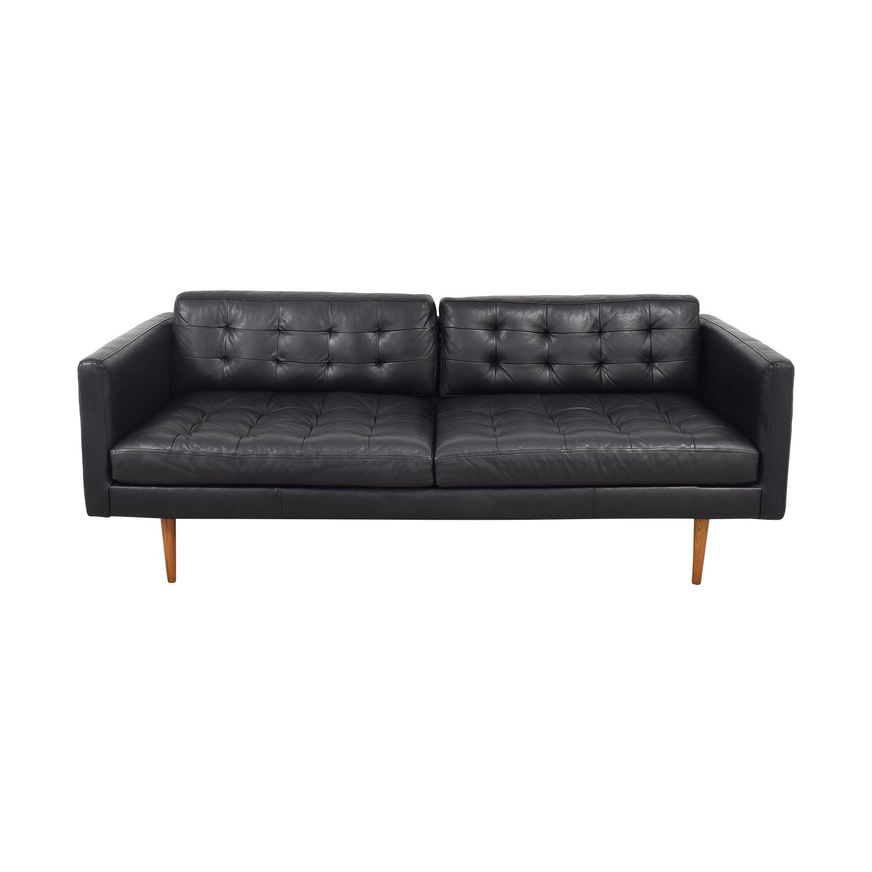 Tufted Mid Century Lounge Sofa / Classic Sofas