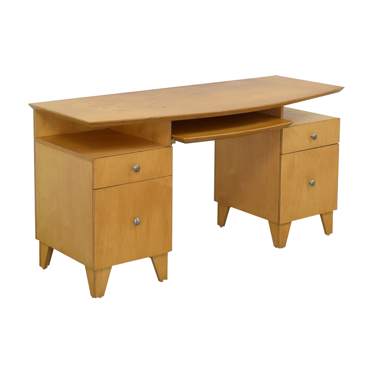 buy  Modernist Desk with Pull-Out Keyboard Tray online