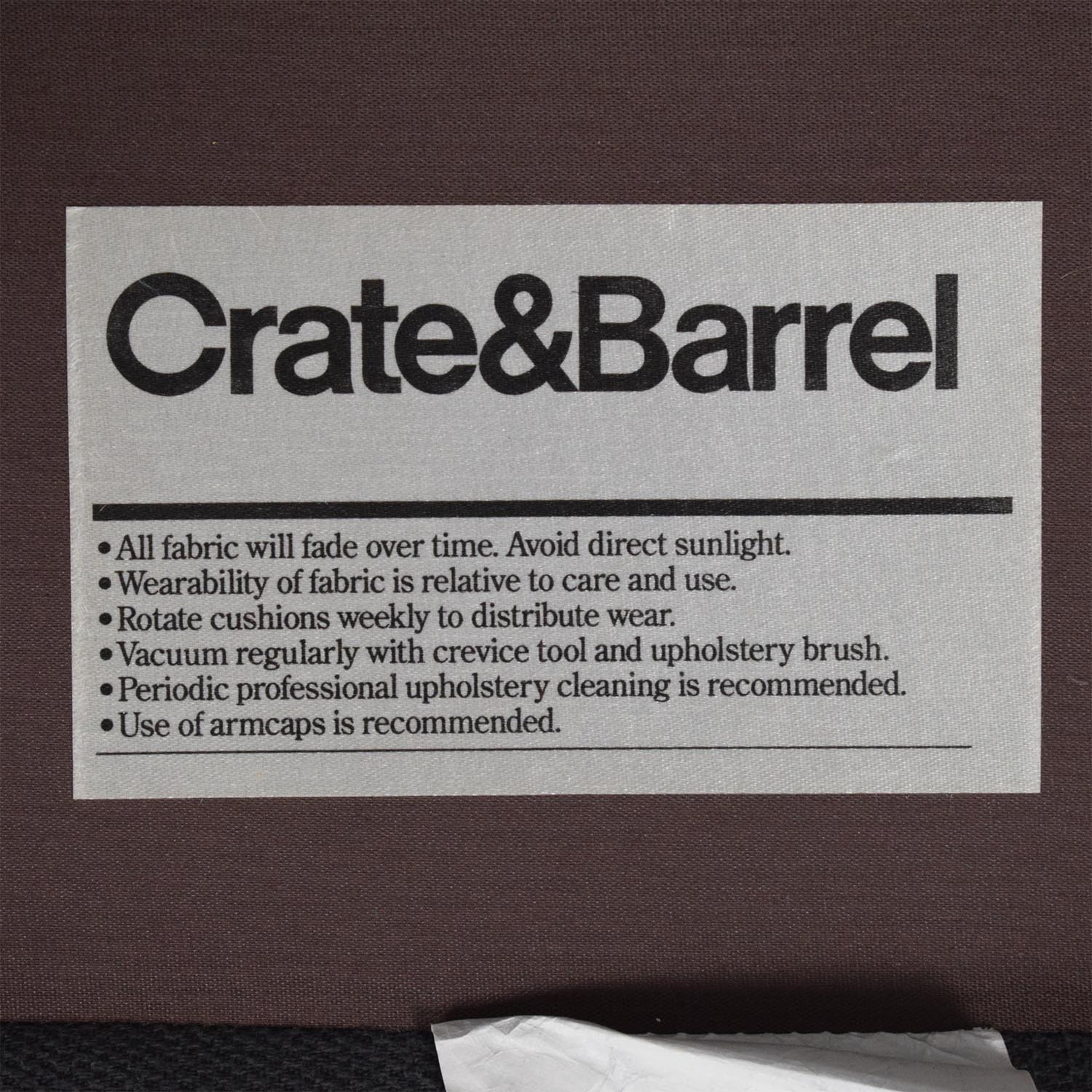 Crate & Barrel Crate & Barrel Petrie Chair Accent Chairs
