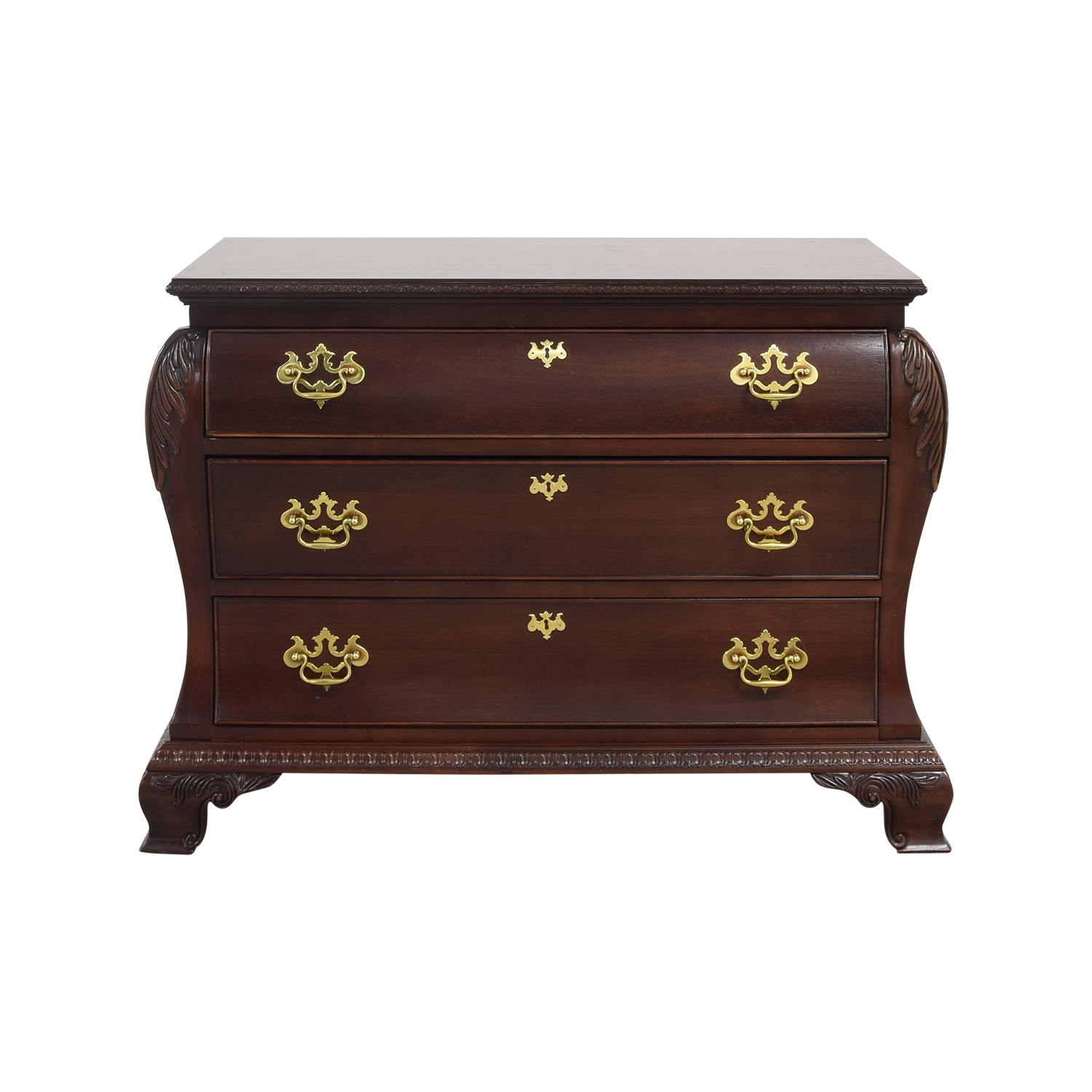 buy Century Furniture Three Drawer Bombe Chest Century Furniture