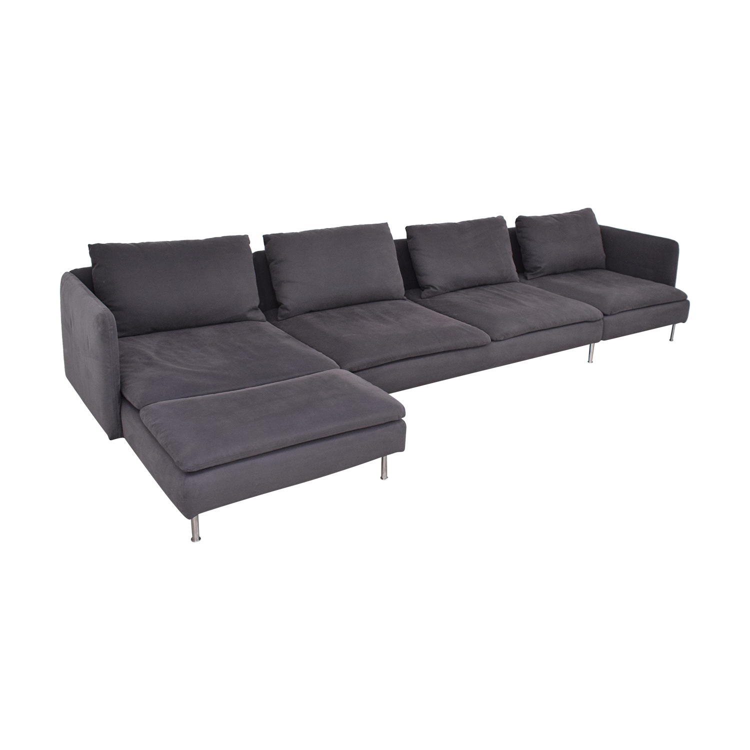 Surprising 28 Off Ikea Ikea Chaise Sectional Sofa Sofas Inzonedesignstudio Interior Chair Design Inzonedesignstudiocom