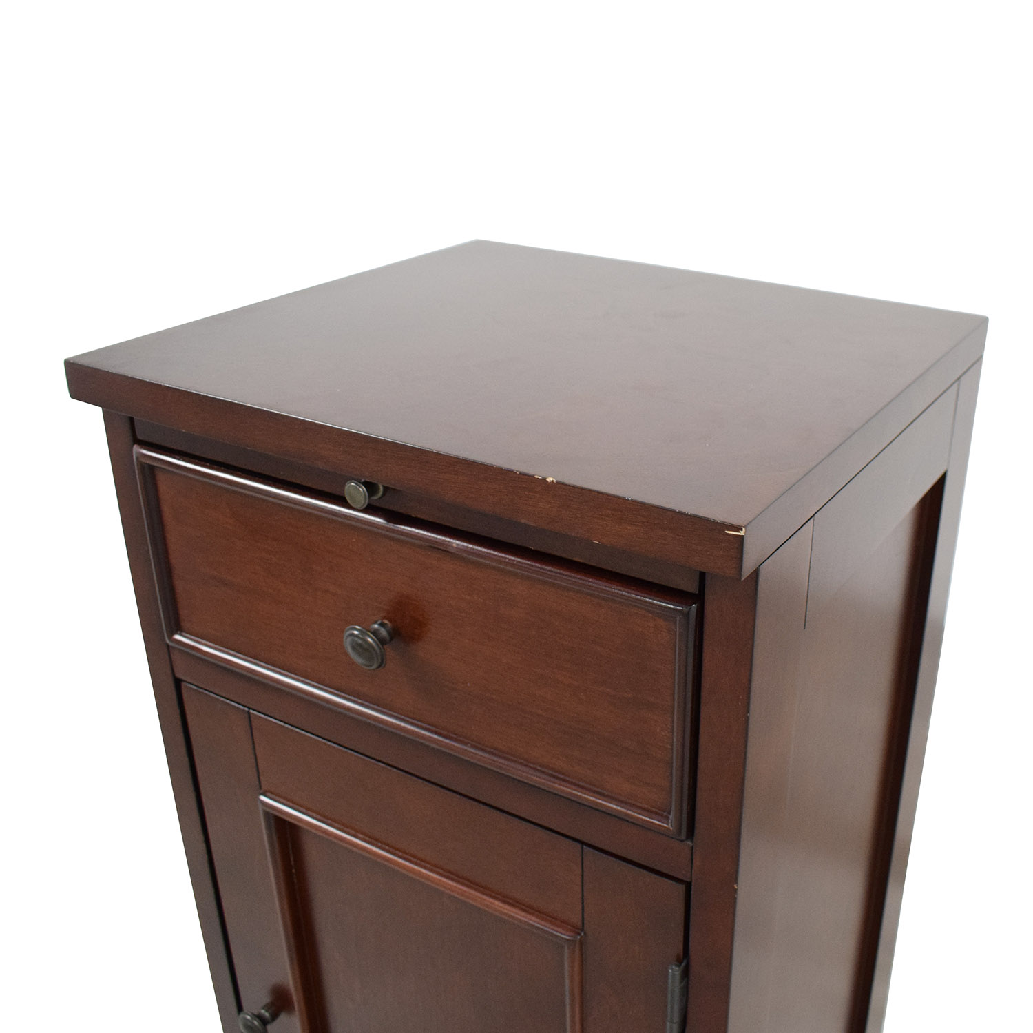 Crate & Barrel Cabinet Side Table / End Tables