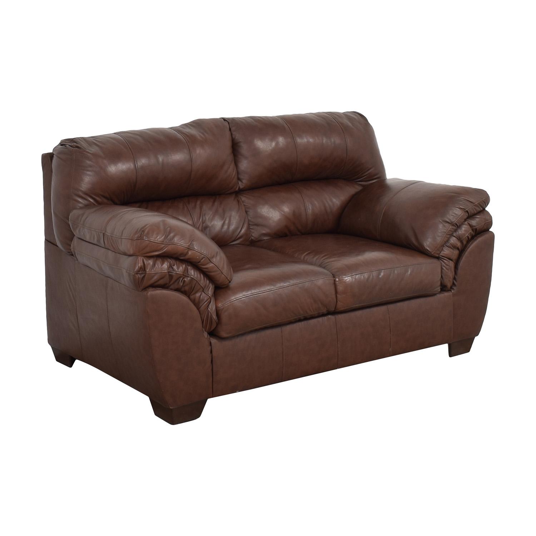 Ashley Furniture Ashley Furniture Overstuffed Loveseat pa