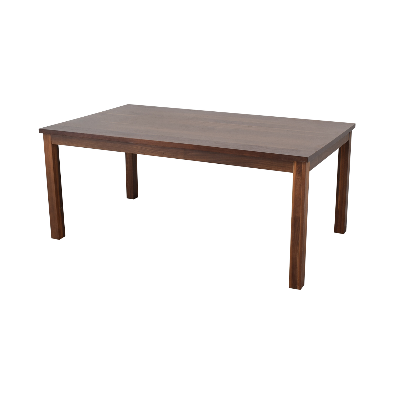 Lyndon Furniture Lyndon Furniture Rectangular Dining Table brown