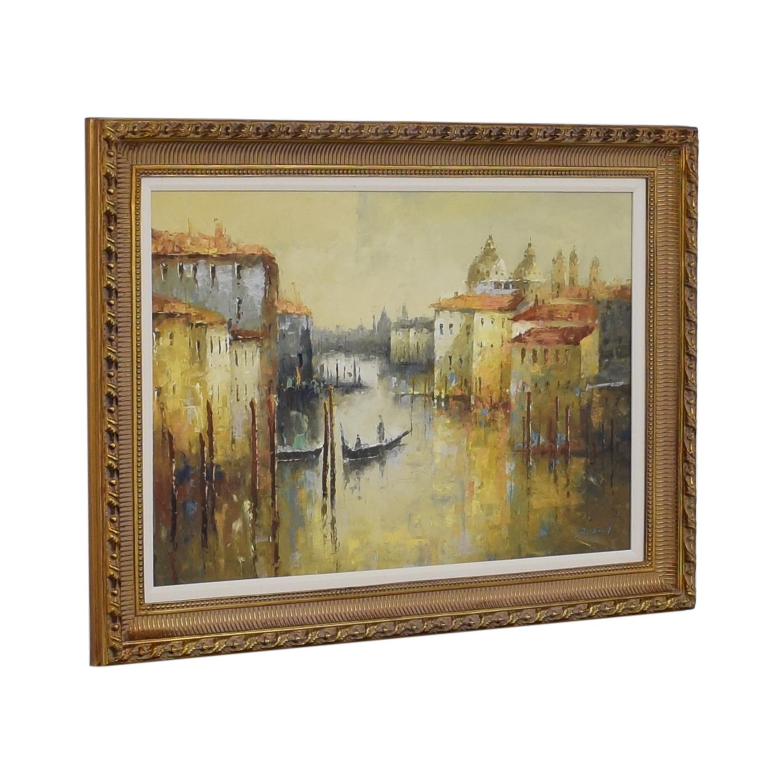 shop Bloomingdale's Venice Oil Painting Bloomingdale's