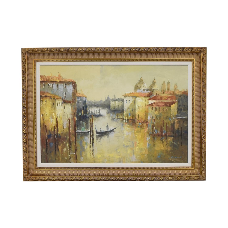 Bloomingdale's Bloomingdale's Venice Oil Painting Decor