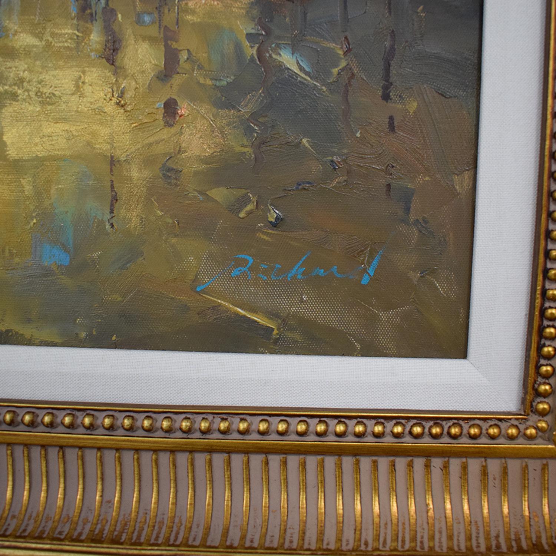 Bloomingdale's Bloomingdale's Venice Oil Painting second hand