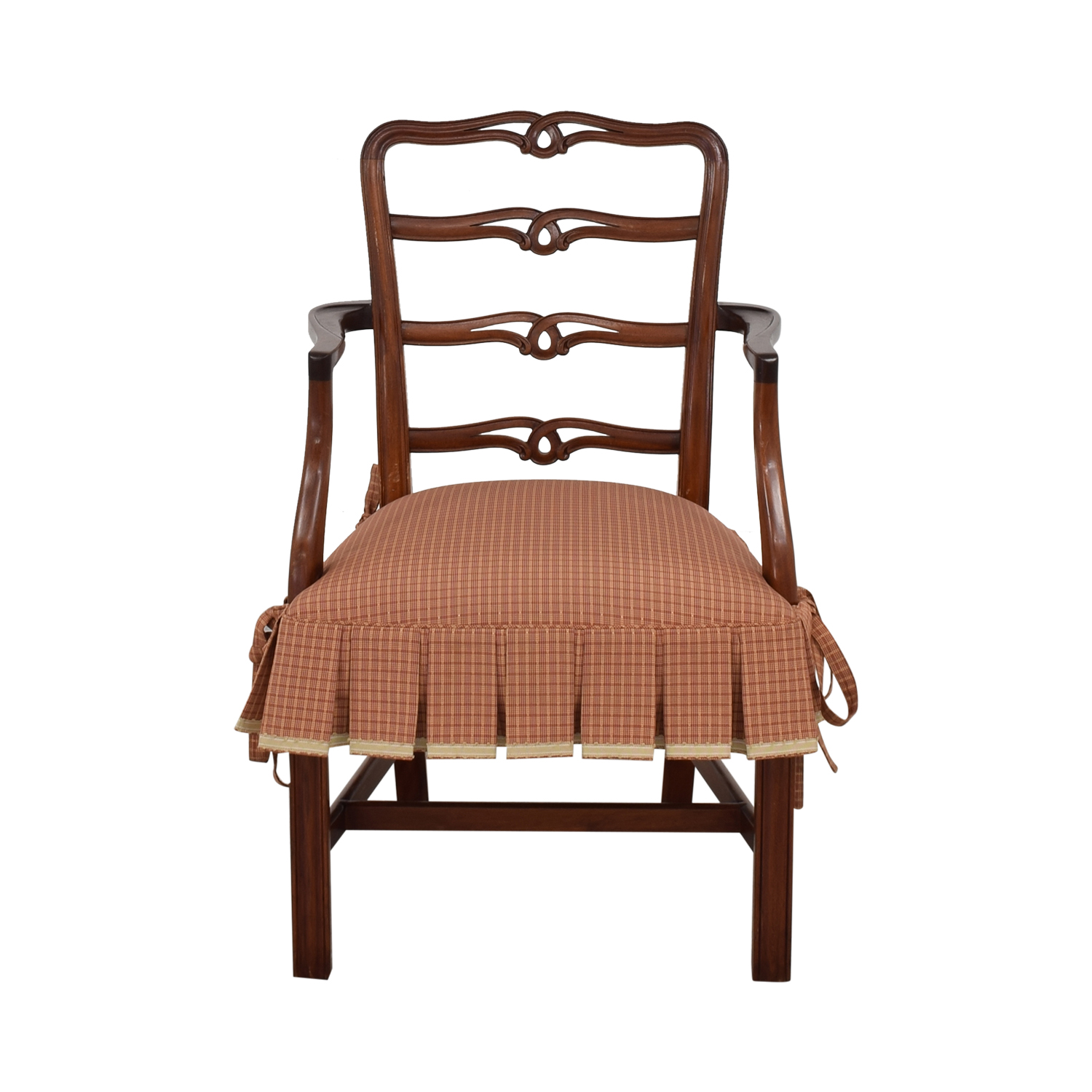 Vintage English Style Arm Chair ct