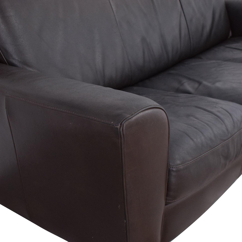 buy West Elm Three Cushion Couch West Elm Sofas