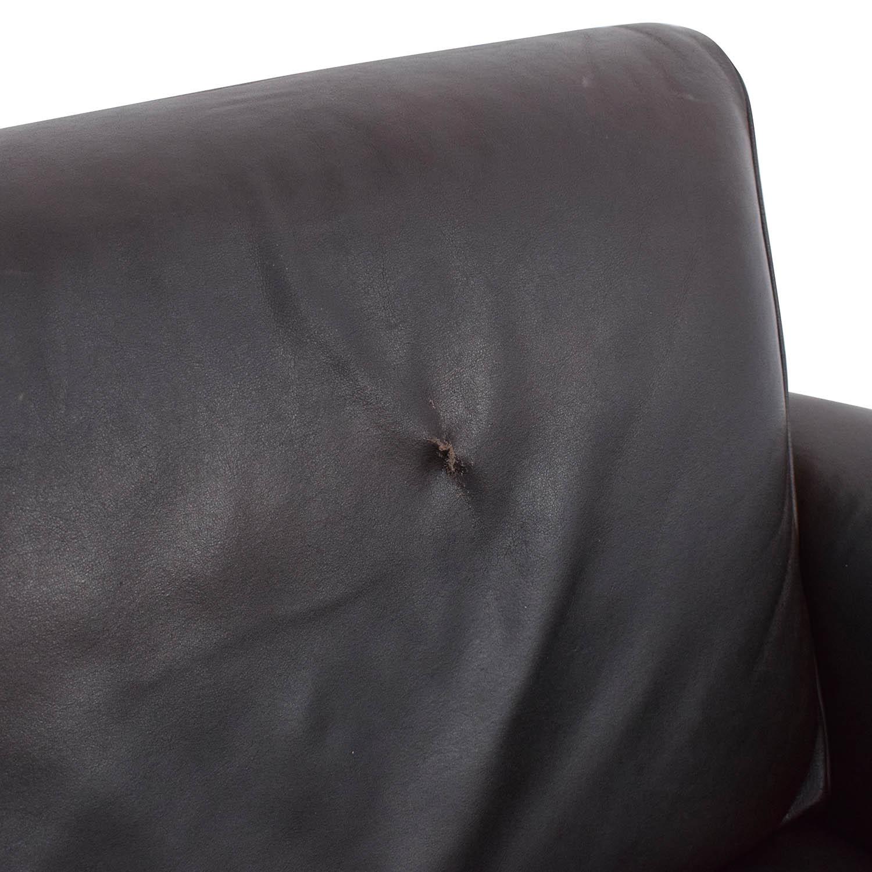 West Elm Three Cushion Couch sale