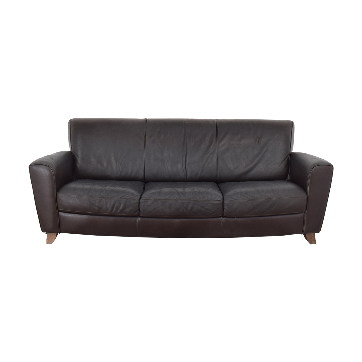 West Elm West Elm Three Cushion Couch for sale