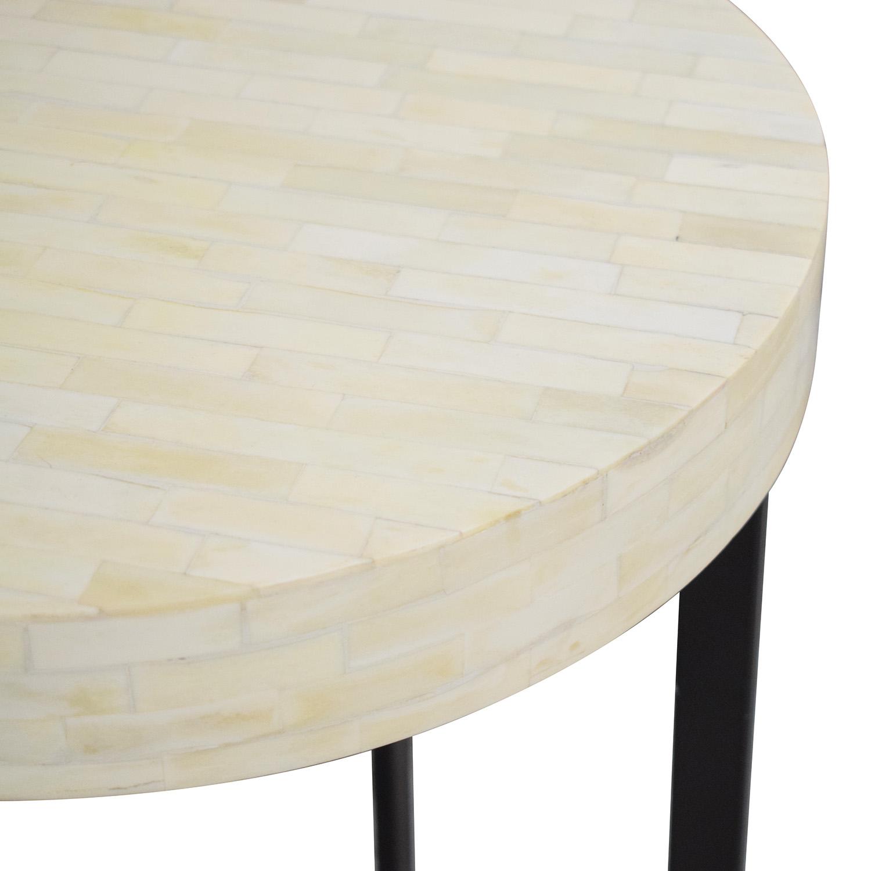 West Elm West Elm Bone Side Table on sale
