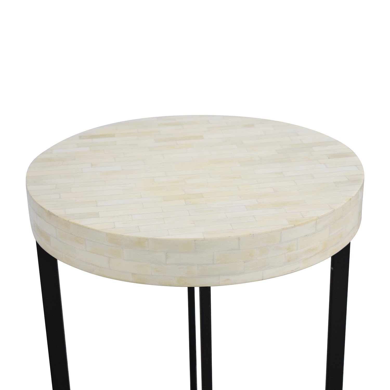 West Elm Bone Side Table / Tables