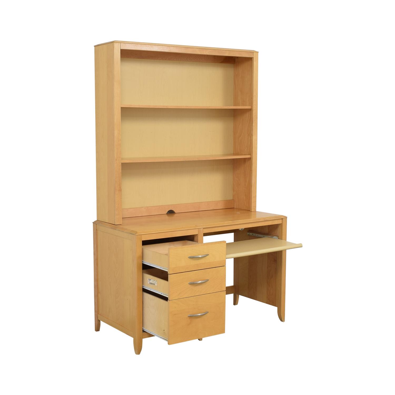 Nebraska Furniture Mart Desk with Hutch / Home Office Desks