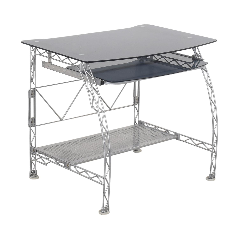 Design Within Reach Glass Computer Desk sale