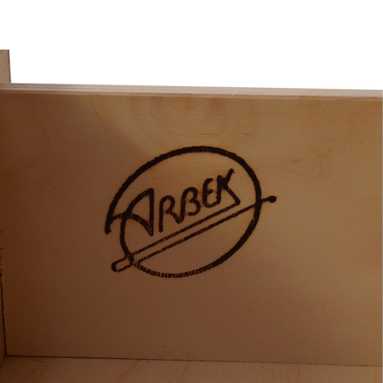 Arbek Arbek Three Drawer Armoire on sale