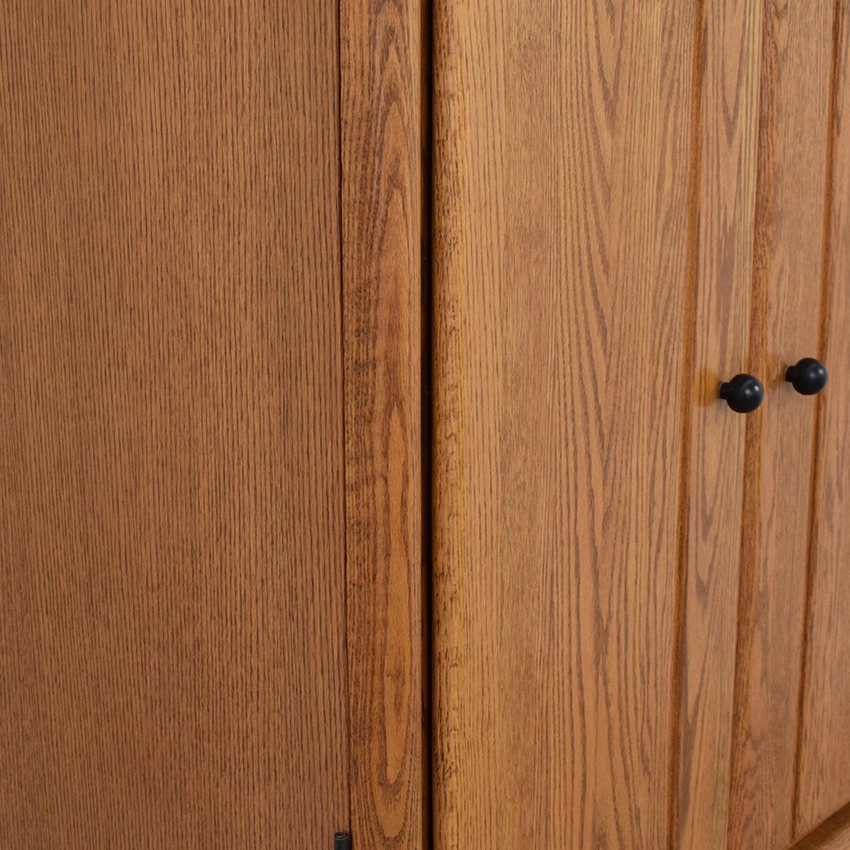 Arbek Arbek Three Drawer Armoire Storage