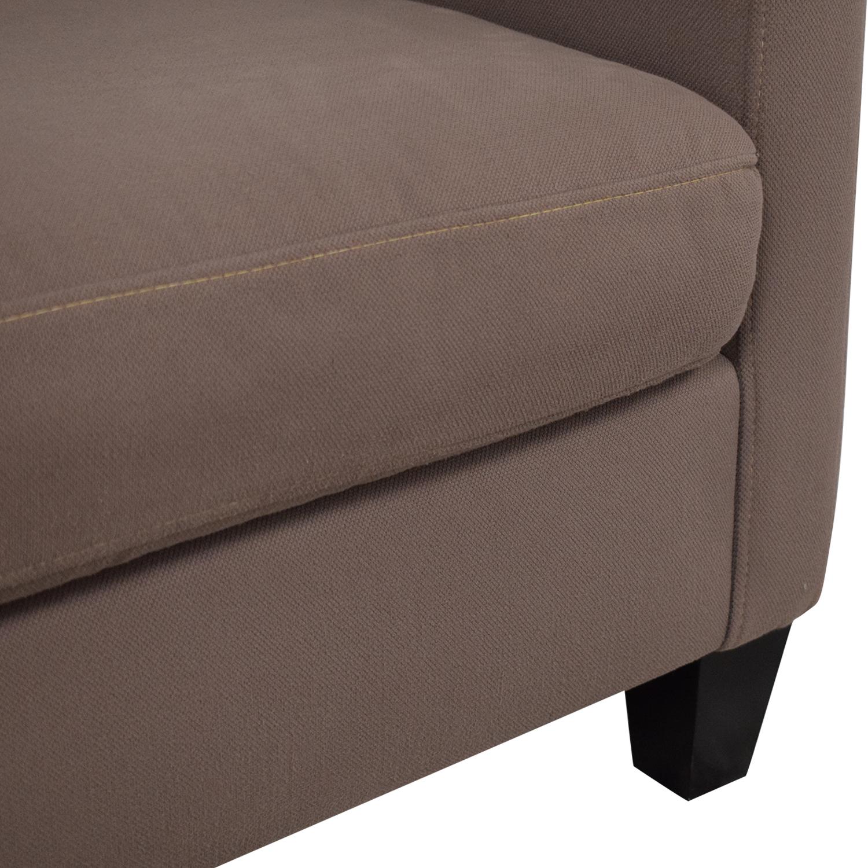 Macy's Macy's Three Cushion Apartment Sofa ma