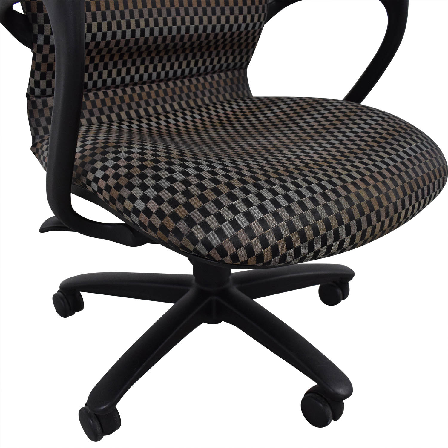 Awesome 62 Off Haworth Haworth Improv Office Desk Chair Chairs Caraccident5 Cool Chair Designs And Ideas Caraccident5Info