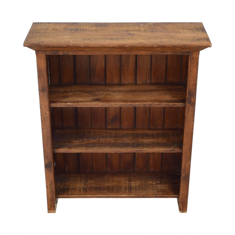 Custom Rustic Bookshelf dimensions