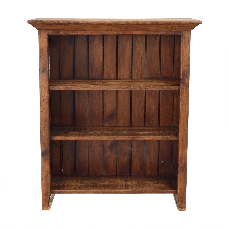 Custom Rustic Bookshelf