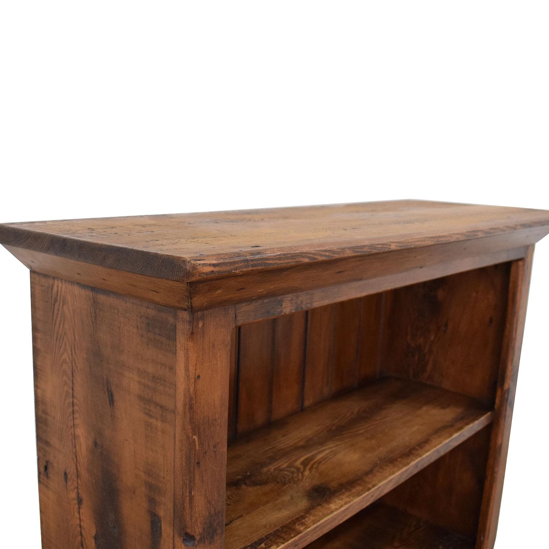 buy Custom Rustic Bookshelf