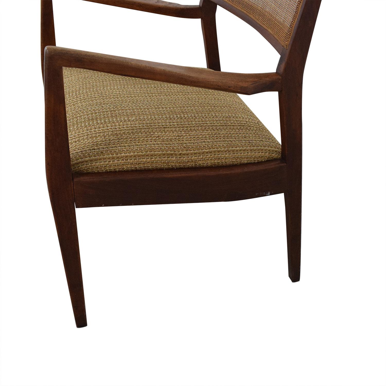 Mid Century Modern Accent Chair brown