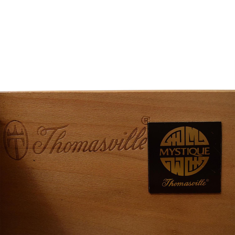 Thomasville Thomasville Nine Drawer Dresser brown
