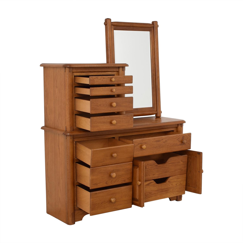 Macy's Dresser with Mirror / Storage