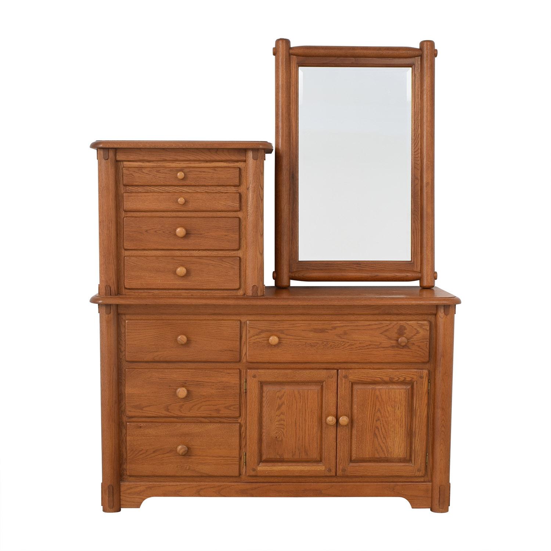Macy's Dresser with Mirror / Dressers
