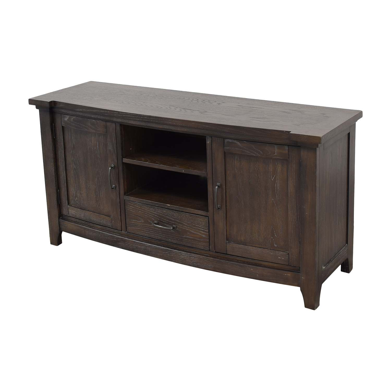 Broyhill Furniture Broyhill Furniture Media Stand dark brown
