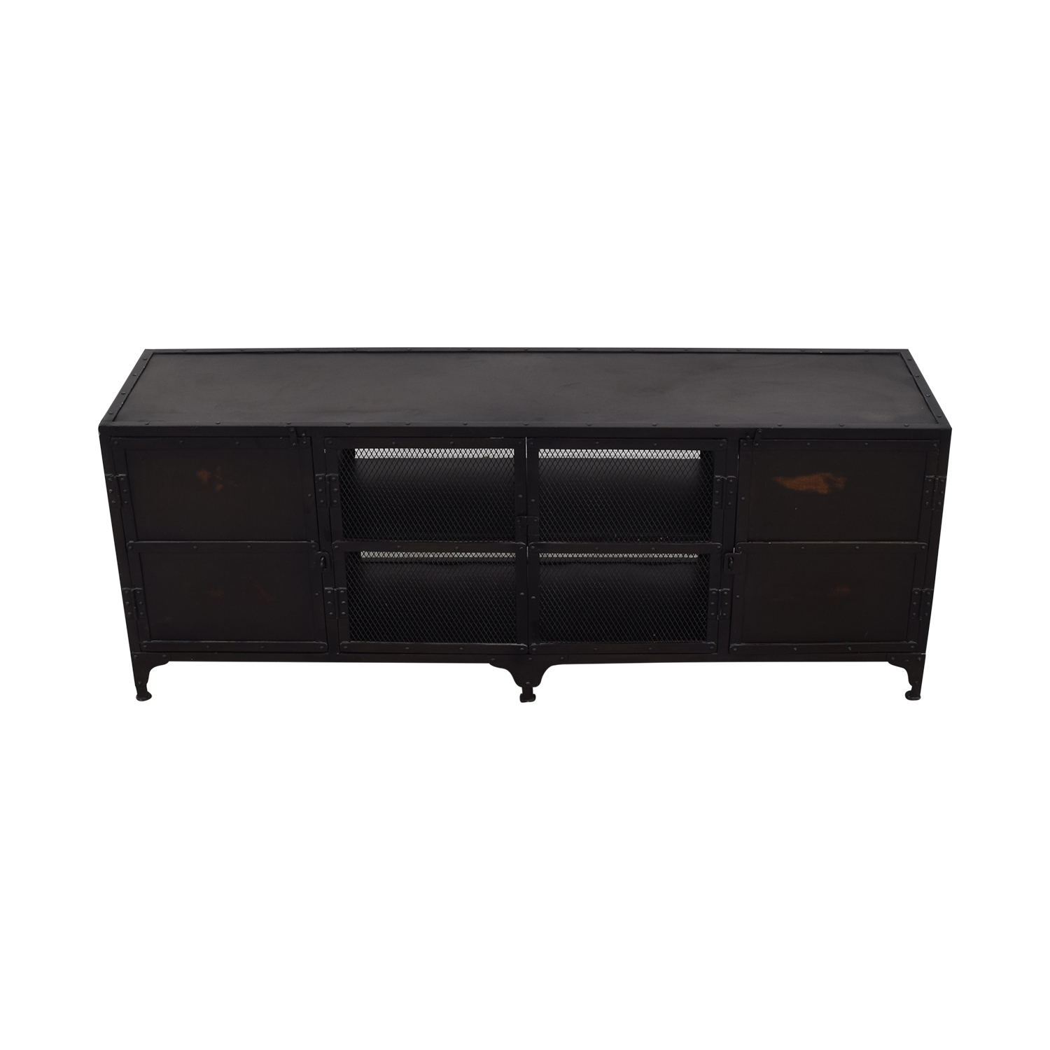 Restoration Hardware Restoration Hardware Industrial Tool Chest Media Console