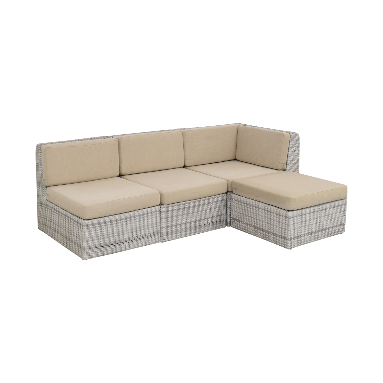 CB2 CB2 Ebb Outdoor Sectional Sofa on sale