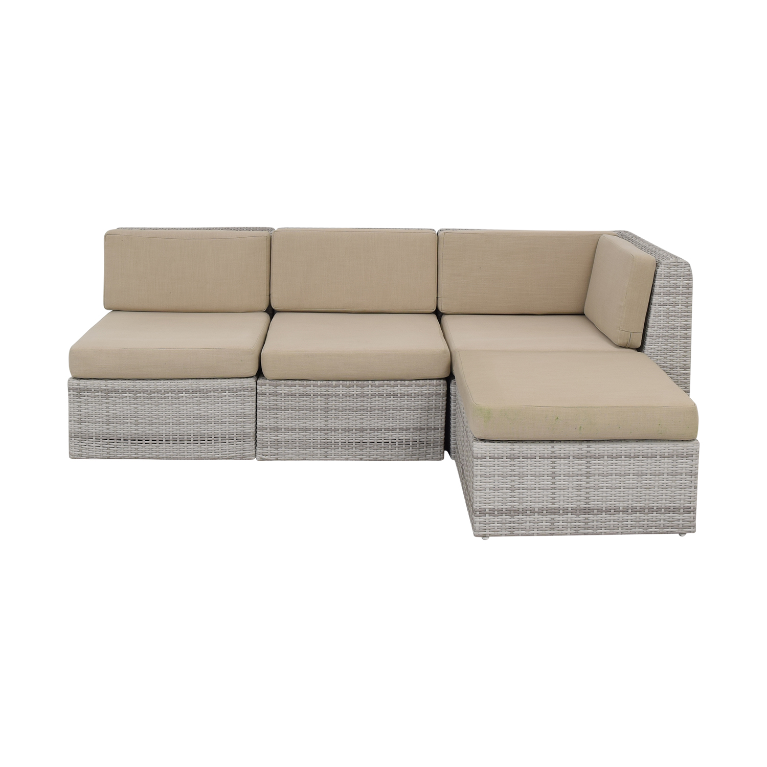 55% OFF - CB2 CB2 Ebb Outdoor Sectional Sofa / Sofas