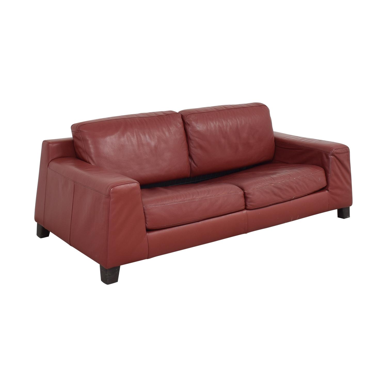 buy Natuzzi Natuzzi Leather Full Sofa Bed online