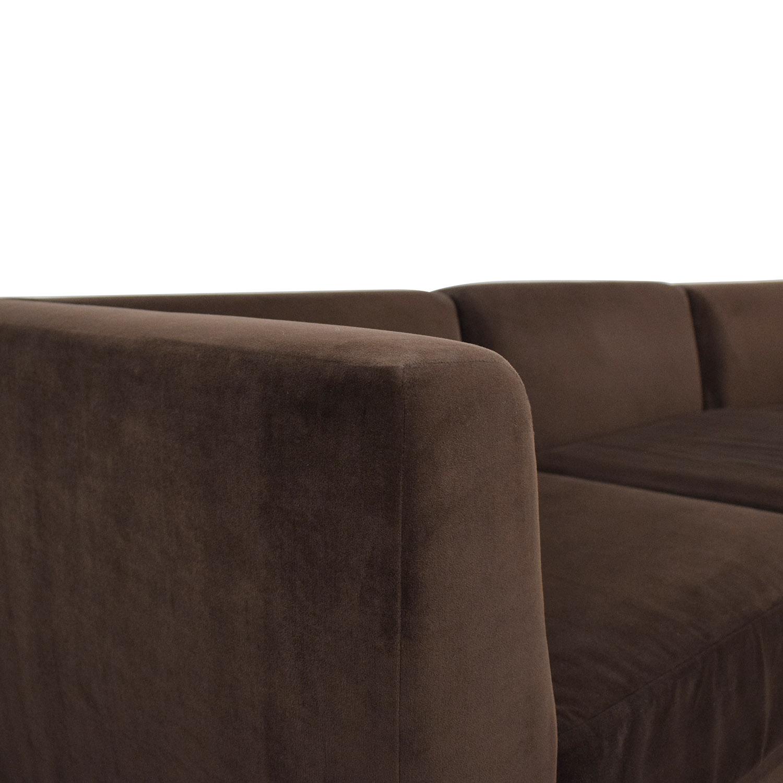buy CB2 Three Piece Modular Sofa CB2